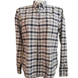 American Eagle outfitters | thick checked buttonup